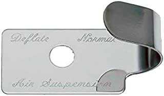 Peterbilt 379 Air Suspension Switch Guard, Stainless Steel