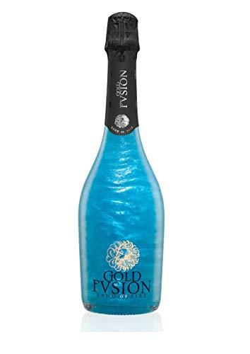 Vino Espumoso Gold Fusion Infinity 750ml- ideal Día del Padre, Navidad, cumpleaños, carnaval, Halloween, fiesta, celebración, boda, brindis