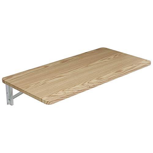 ZCJB Tvättkammare Utility fällbord, väggmonterat drop-leaf bord fläckar för behandling och klädeveck, spara värdefullt utrymme (storlek: 100 × 40 cm)
