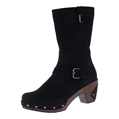 Gabor damesschoenen laarzen breed G zwart 3270347