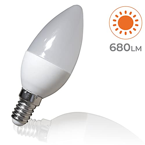 LED ATOMANT, S.L. Pack 5x LED Vela C30, 7w.