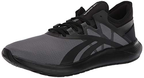 Reebok Men's FLOATRIDE Fuel Run Shoe, Black/Black/White, 9 M US