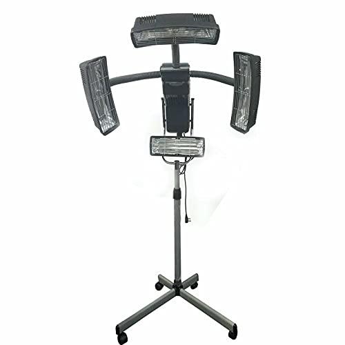 Capuchón para secador de pelo con base regulable en altura y temporizador, 950 W