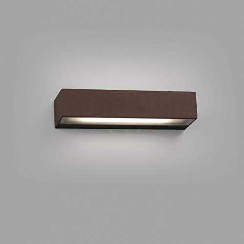 Faro Barcelona 71053 TOLUCA LED-wandlamp, 16 W, 3000 K, roestbruin