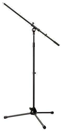Pronomic MS-15 Pro microfoonstatief met galgen zwart