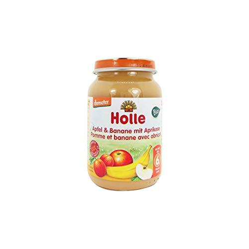 Holle Bio Jar Pomme Banane Abricot 6m + 190g