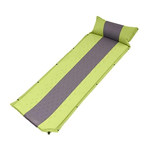 ABOOFAN - Materassino gonfiabile da campeggio, impermeabile, con cuscino, ultraleggero, per zaino in spalla, campeggio, escursionismo