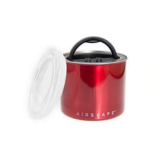 AirScape Vakuumdose Edelstahl 250 gr. (rot/red)