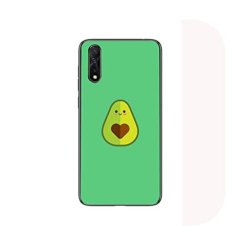 lindo de dibujos animados fruta aguacate teléfono caso para Samsung S6 S7 borde S8 S9 S10 E lite2019 S20 Plus cubierta fundas coque-a8-para S10 Plus