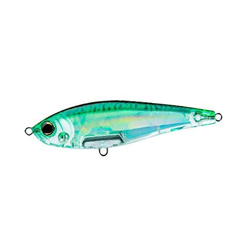 Yo-Zuri 3D Inshore Twitchbait Slow Sinking Lure, Green Mackerel, 70mm/2-3/4