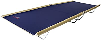"""BYER OF MAINE, Allagash Plus, Cot, 76"""" L X 30"""" W X 8"""" H, Lightweight Cot, Extra Wide, Camping Cots Adult, Holds up to 250lbs, Single, Portable Camping Cot"""