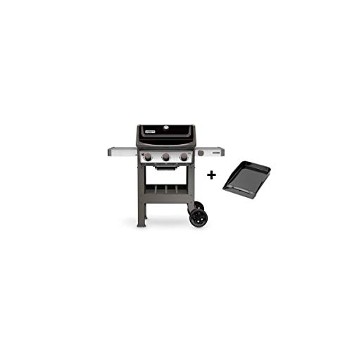 Weber Barbecue à gaz Spirit 2 E-310 Black avec plancha