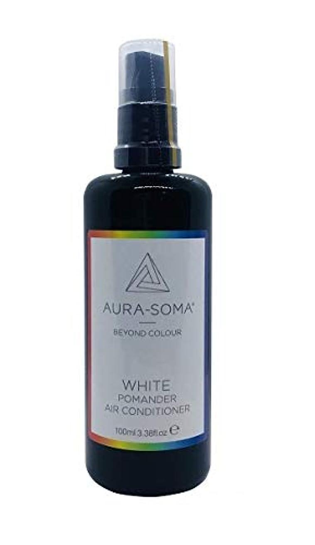 ラケット洞察力のある伝染性のオーラソーマ ポマンダー/エアーコンディショナー100ml オリジナルホワイト Aurasoma