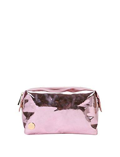 Mi-Pac Gold Wash Bag Trousse de Toilette, 20 cm, Rose(Mirror Pink)