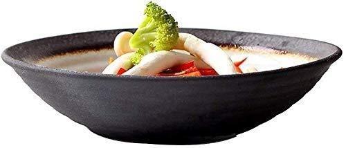 Panzi227 Cuenco de cerámica japonés cerámico tazón de cerámica de fideos sopa tazón caliente olla salsa cuenco restaurante plato plato fruta ensalada cuenco sushi hilo tazón tazón de arroz Regalo