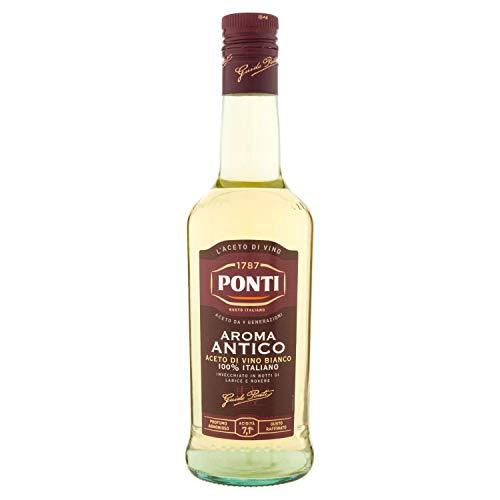 Ponti Aroma Antico Aceto di Vino Bianco, 0.5L