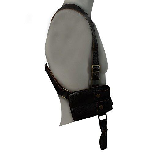 Expeke Nathan Drake Gun Holster PU Leather Gun Holster (Black)