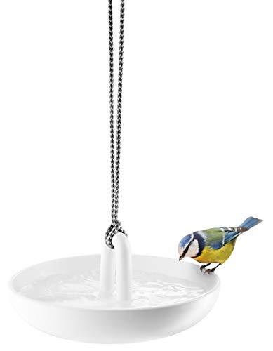 Eva Solo Hängendes Vogelbad im Keramik, Weiss
