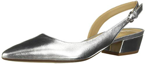 Naturalizer Women's Banks Shoe, Silver, 9 M US