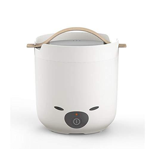 1.2L Mini Reiskocher, elektrischer Reiskocher klein, Warmhaltefunktion - Geeignet für 1-2 Personen - Zum Kochen von Suppen, Reis, Eintöpfen