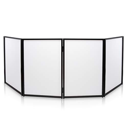 DJ Booth Foldable Cover Screen -...