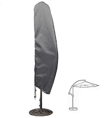 HENTEX Sonnenschirm Schutzhülle, Mit faltbaren geliefert Fiberglasstab, Ampelschirm Wasserdichtes, Atmungsaktives Ø 300cm,240x68cm