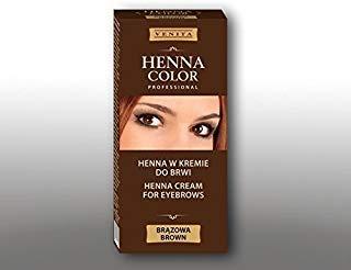 Henna Color braun Creme für Augenbrauen Henne Öko 100g = 11,63 Euro Henne Öko