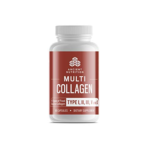 Multi Collagen Pills, Formulated by Dr. Josh Axe,...