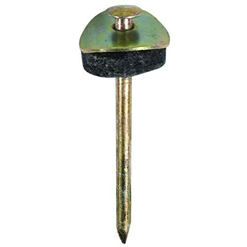ダイドーハント (DAIDOHANT) (傘釘) スレート釘 [ 木下地用 ] (鉄/クロメート) (呼び径d) 4.7 x (長さL) 75mm (10本入) 10175054