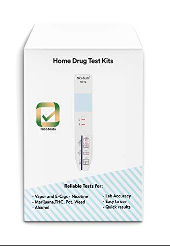 Saliva Nicotine Smoking Test 5-Pack by NicoTests(TM)
