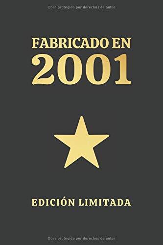 FABRICADO EN 2001 EDICIÓN LIMITADA: CUADERNO DE CUMPLEAÑOS. CUADERNO DE NOTAS O APUNTES, DIARIO O AGENDA. REGALO ORIGINAL Y CREATIVO.