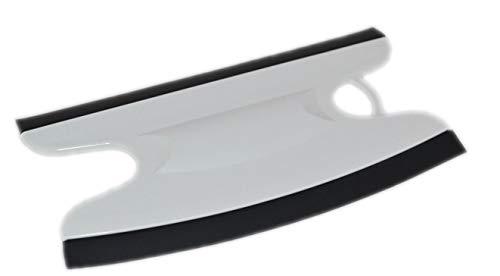 Dusbad Glasabzieher/Duschabzieher für Duschabtrennungen/Duschkabinen gerade/rund - Made in Germany