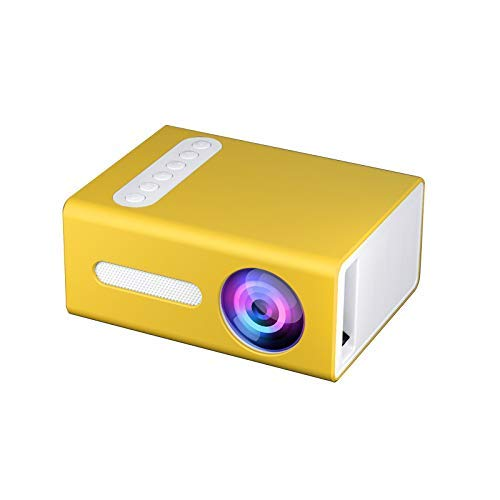 Livato T300 Mini Projector,Portable Projector for Cartoon, Kids Gift, Outdoor Movie,LED Pico Video Projector for Home Theater Movie Projector with HDMI USB TV AV Interfaces and Remote Control