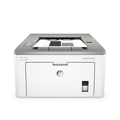 HP LaserJet Pro M118dw Laserdrucker (Schwarzweiß Drucker, WLAN, AirPrint) weiß