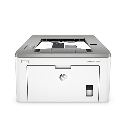 HP LaserJet Pro M118dw (4PA39A0) A4 Wireless Mono Laser Printer with Wi-Fi Direct Printing - White