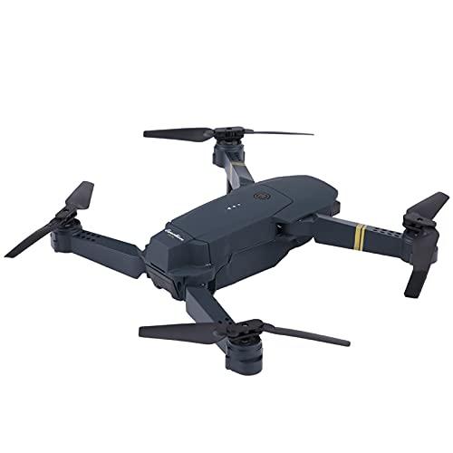 EVTSCAN Drone RC con cámara de 2.0MP 2.4G 4CH Drone RC Plegable Altitude Hold WiFi FPV Quadcopter(3 Batteries Type)