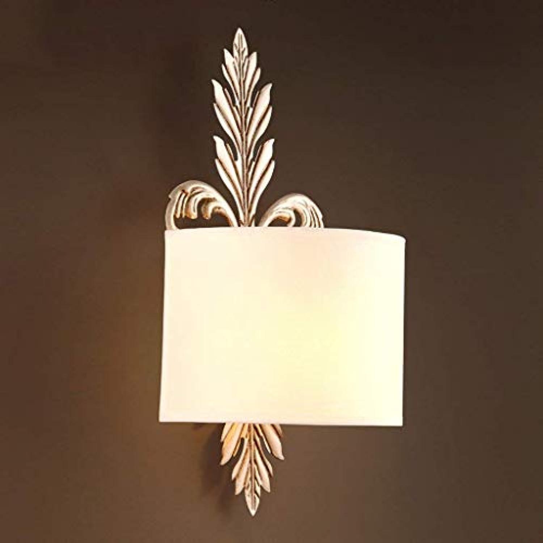 WHKHY Convenience Illuminateation Lampe Wand Esszimmer Lounge Das Schlafgemach Einfache Vogue Design Tuch Wandlampe Walk