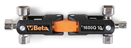 BETA 1600Q 10 Llave articulada de Doble Cruz para cuadristas