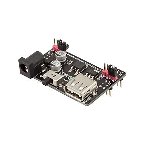 Módulo electrónico Tablero de fuente de alimentación de 5V / 1A placa del módulo de 3.3V for A-r-d-u-i-n-o - productos que funcionan con placas A-r-d-u-i-n-o oficiales 3Pcs Equipo electrónico de alta