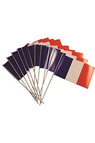 Cotillons d'Alsace - 10 bandiere per tifosi francesi, 20 x 30 cm