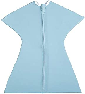 Classic Baby Blue Swaddle Transition Zipadee-Zip, Small 4-8 Months   12-19 lbs, 25-29 inches