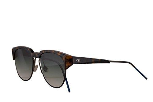 Dior Christian DiorSpectral gafas de sol Amarillo Havana con Lentes de Gradientes Verdes 53mm 01HS5 DiorSpectrals DiorSpectral/S Spectral