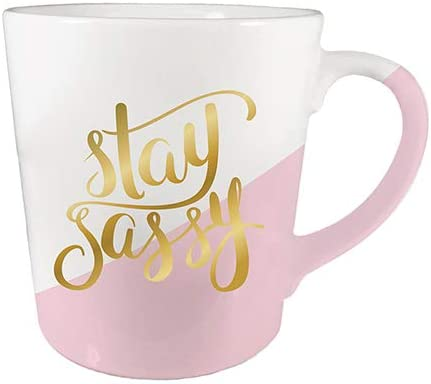 Christian We OFFer at cheap prices Brands 10-04255-049 14 oz SassyPack Stay Coffee - cheap Mug