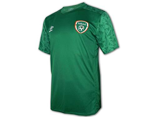 UMBRO Irland Training Shirt 20/21 grün FAI Ireland Fußball Fan Jersey Eire, Größe:M