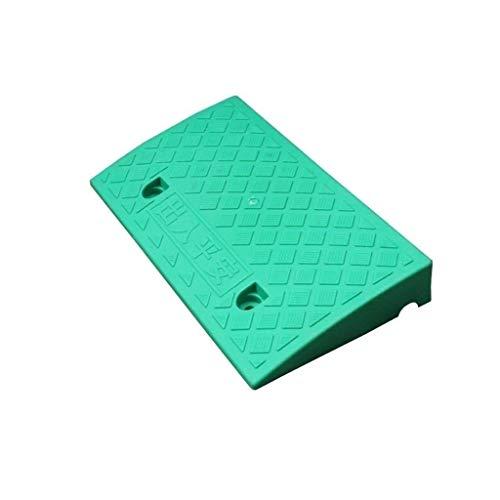 Buffer-Feng Stappenpad, zwart/geel/groen, drempels van de familie, rolstoel, serveerkarretje, hellingen van kunststof, draagbaar, 5-9 cm