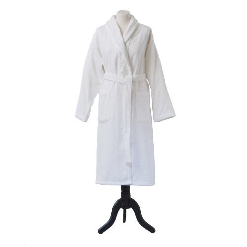 Essix - Peignoir de bain Aqua Coton Blanc Taille XL