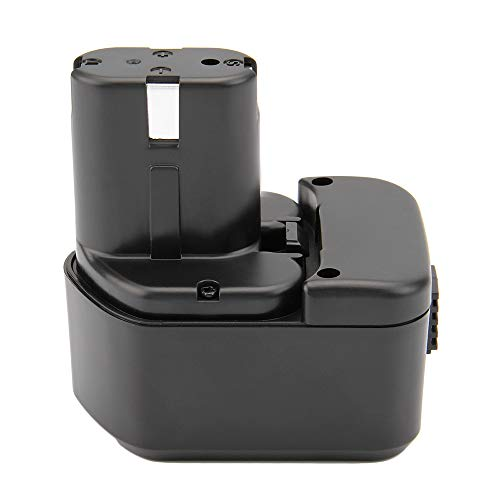 Hanaix 3000mAh 12V Battery Compatible with Hitachi EB1214S EB1212S EB1214L EB1220BL EB1220HS EB1222HL EB1226HL EB1230HL BCC1212 EB1230R EB1230X EB1233X, Ni-MH Battery