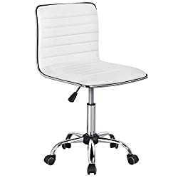 Budget Choice for Best Sewing Chair: Yaheetech Adjustable Task & Crafting Chair in White