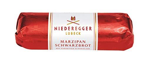 Niederegger Marzipan Schwarzbrot, 2er Pack (2 x 75 g)