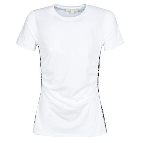 MICHAEL Michael Kors Camiseta de mujer MS05MJW6TF White Verano 2020 P/E 2020 blanco L